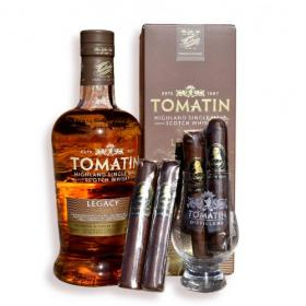 Tomatin Legacy Scotch Whisky and Barrel Aged Cigar Pairing