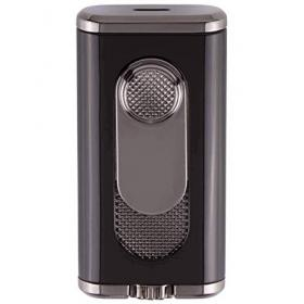 Xikar Verano Flat Flame Lighter - Black