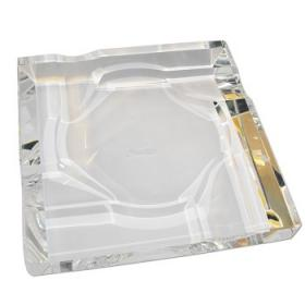 Four Cigars Crystal Ashtray