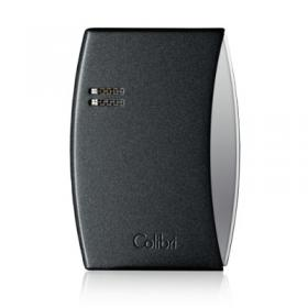 Colibri Eclipse – Single Jet Lighter - Matte Metallic Black