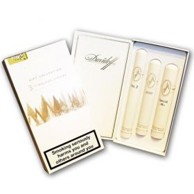 Davidoff Timeless Gift Collection - 3 Tubed Cigars Gift Pack