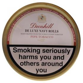 Dunhill De Luxe Navy Rolls Pipe Tobacco 50g Tin