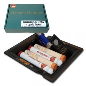 EMS Habanos Havana Hamper - 4 Cigars and Ashtray