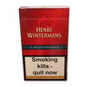 Henri Winterman Half Coronas - Pack of 5