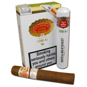 Hoyo de Monterrey Epicure No. 2 Tubed Cigars - Pack of 3