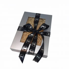 Sampler Gift Box & Ribbon (empty)