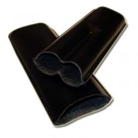 Churchill Leather Cigar Case 2 cigars