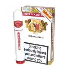 Romeo y Julieta No.3 Tubos - Pack of 3