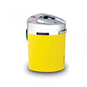 Lamborghini Mugello Triple Torch Table Lighter Yellow NEW