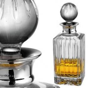 Berkeley Linear Crystal Whisky Decanter (Best Seller)