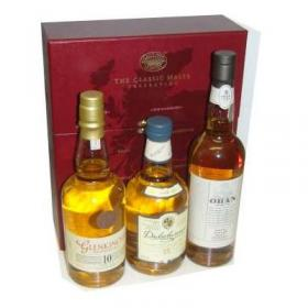 Classic Malts of Scotland - Gentle/Light selection - 3 x 20cl