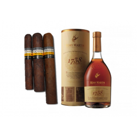 Cohiba Maduro 5 & Remy Martin 1738 Accord Royal Cognac - 70cl 40%