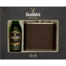 Glenfiddich Miniature & Hip Flask Gift Pack