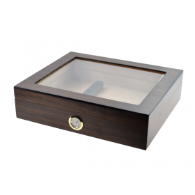 Diego Glass Top Cigar Humidor – 20 Cigars Capacity