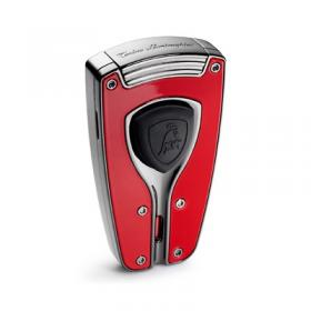 Torino Lamborghini Forza Red Carbon Fiber Torch Lighter NEW