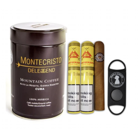 Montecristo Coffee & Cigar Sampler