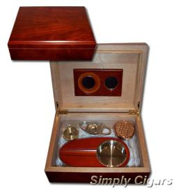 'My First' Humidor - Rosewood Finish 25 Cigar capacity