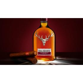 Dalmore Cigar Malt with Partagas Serie D No 4 NEW
