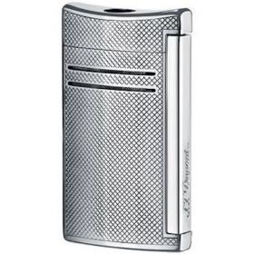 St Dupont Lighter Maxijet Chrome Grid