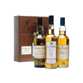 Classic Malts of Scotland - Coastal selection - 3 x 20cl