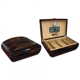 Prestige Waldorf Arc Shaped Humidor - 150 cigars capacity