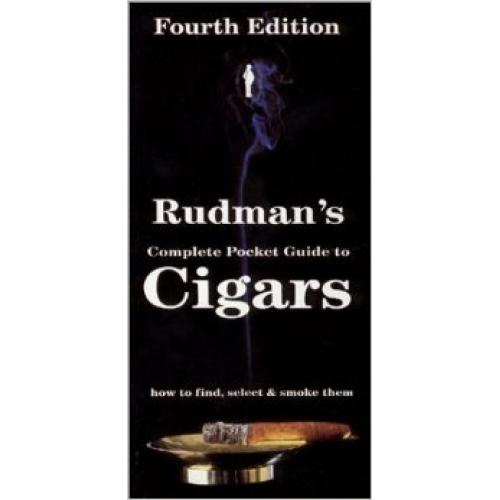 Rudman's Pocket Guide to Cigars Book by Rudman