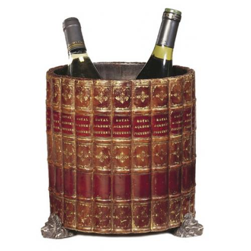 Boardroom Wine Cooler with 'Faux' Book Covering