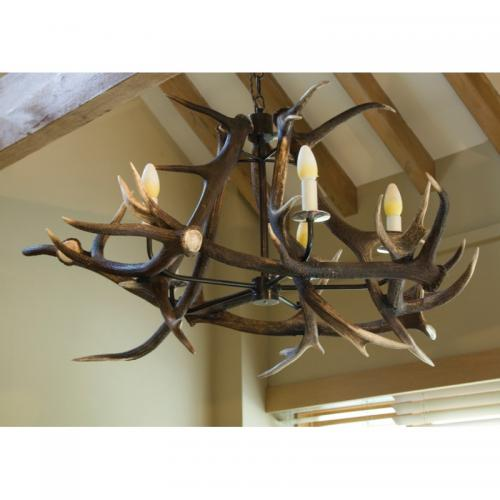 Antler Chandelier - 5 Arm