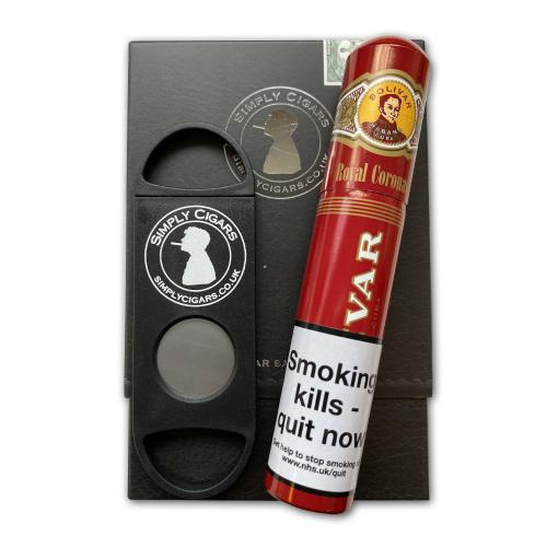 Cigar Gift Pack - Bolivar Royal Coronas Tubed