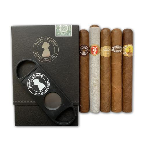Simply Cigars Value EMS Petit Corona Sampler - 5 Cigars