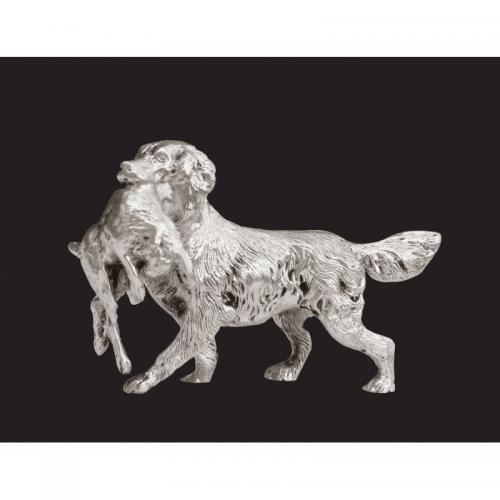 Silver Retriever with Hare NEW