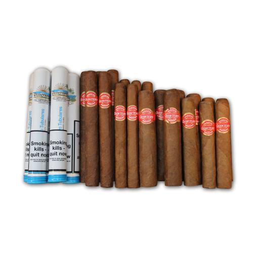 Quintero Mixed Box Selection Sampler - 25 Cigars