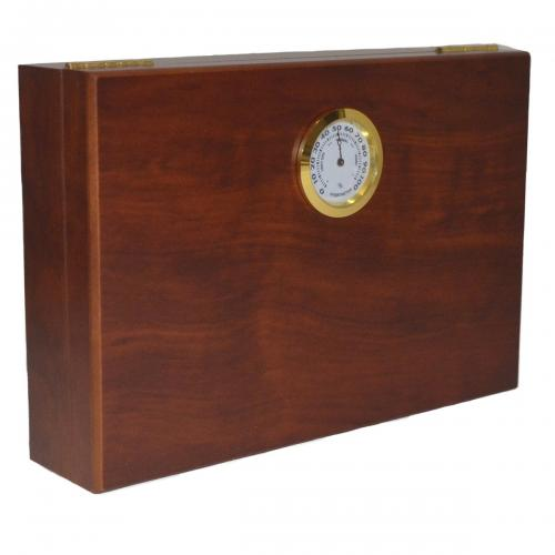 Mini Dark Burl Humidor - 5 Cigars