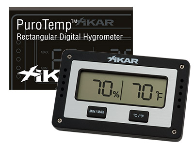 Xikar Slim Digital Hygrometer NEW